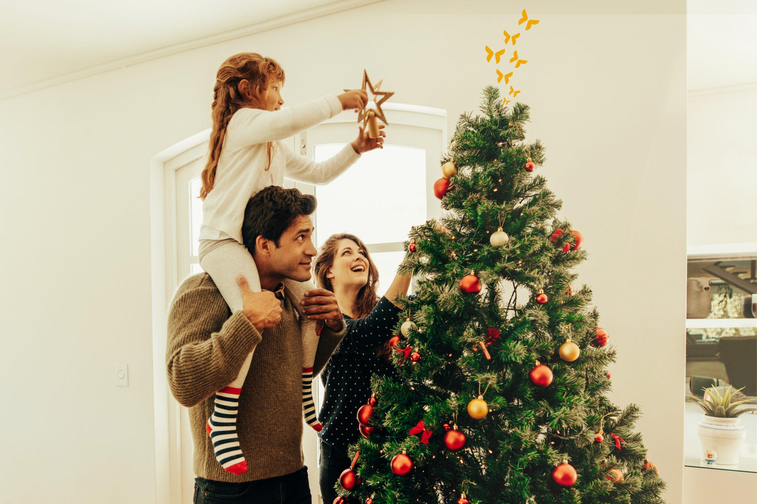 Kerstboom opzetten